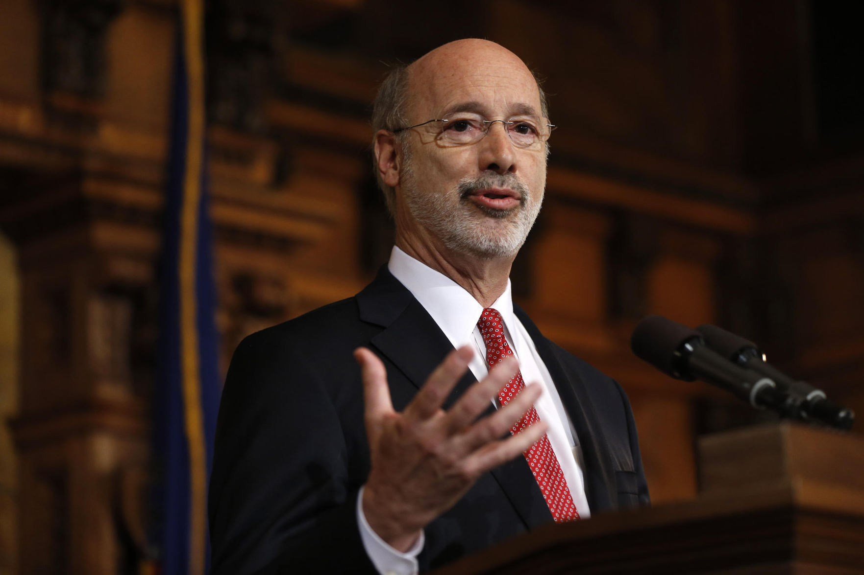 Pennsylvania could halt spending on Friday without budget