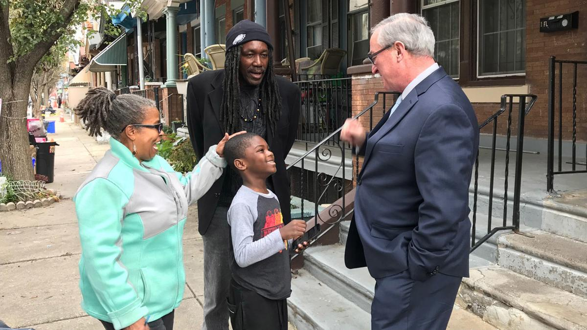 Jim Kenney and Cynthia Muse