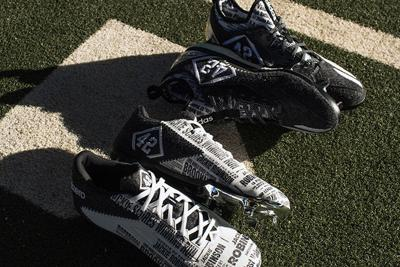 a0dc3438e06f To honor Jackie Robinson, Adidas will unveil special edition baseball cleats  for Jackie Robinson Day. The shoes will be worn by Major League Baseball ...