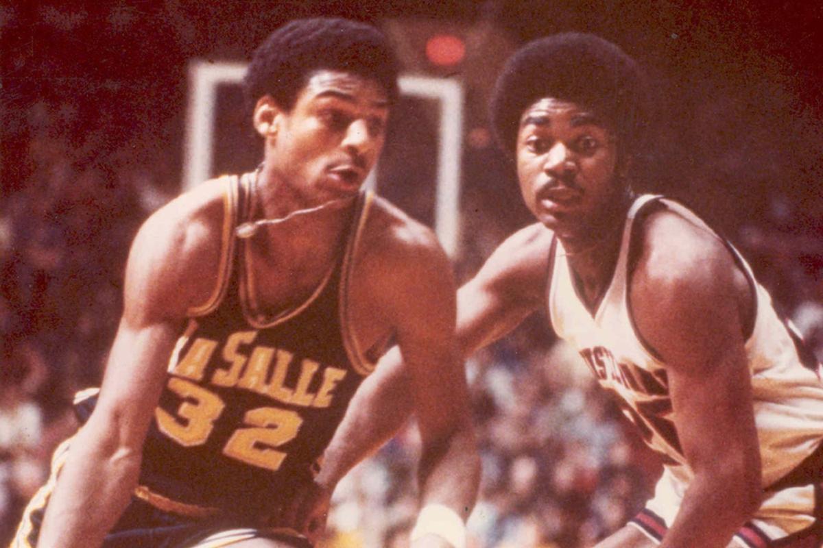 West Catholic H S La Salle great Michael Brooks s at 58