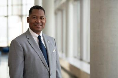 Antonio Tillis, the new chancellor of Rutgers-Camden