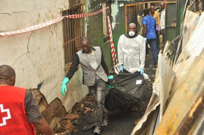 Children die in Liberian school fire