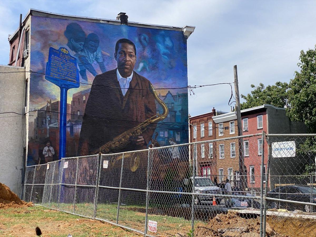 Coltrane mural
