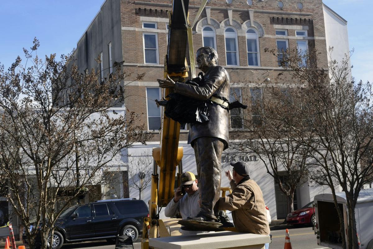 Civil Rights Movement Vernon Dahmer Sculpture