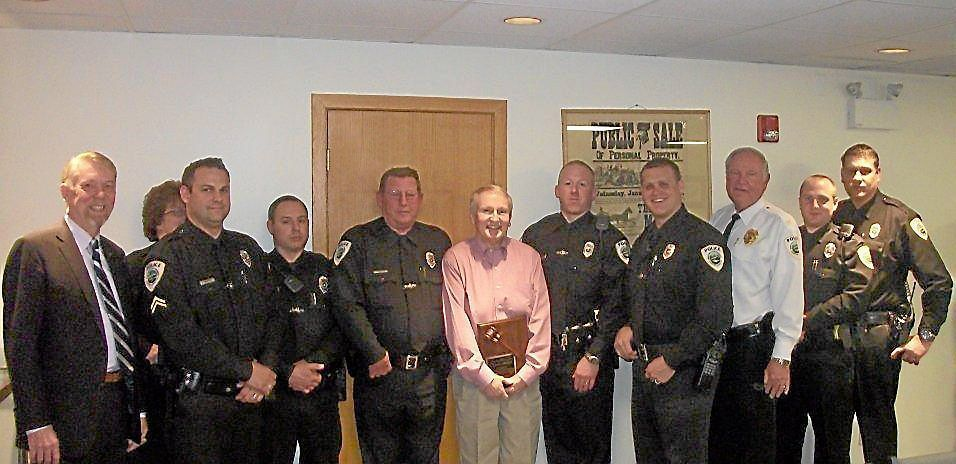 East Pikeland honors community members, officers at township meeting
