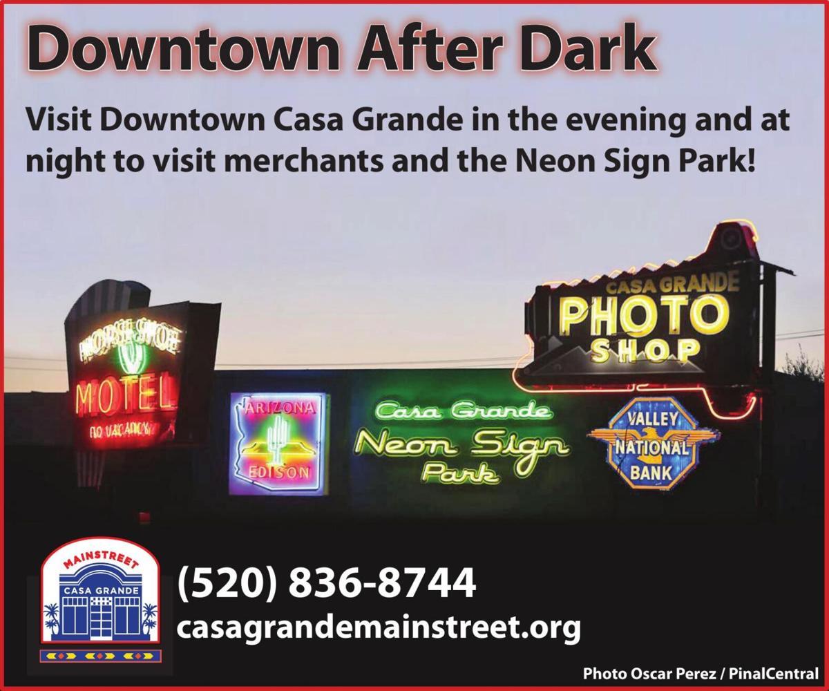 Casa Grande Main Street - Downtown After Dark