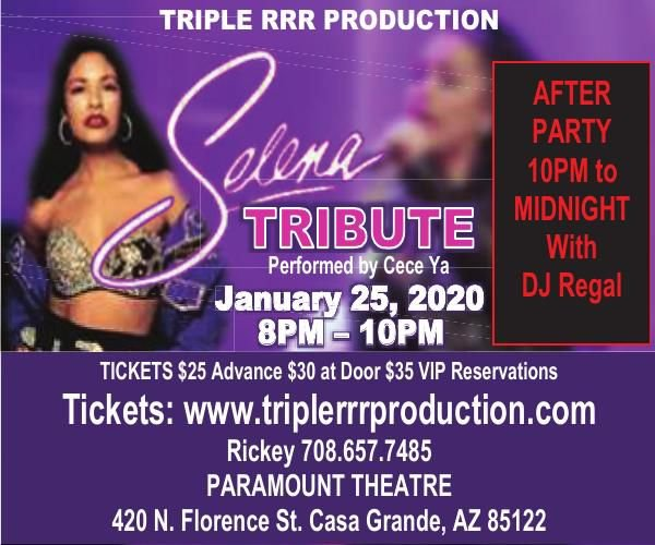 Triple RRR Production at the Paramount Theatre