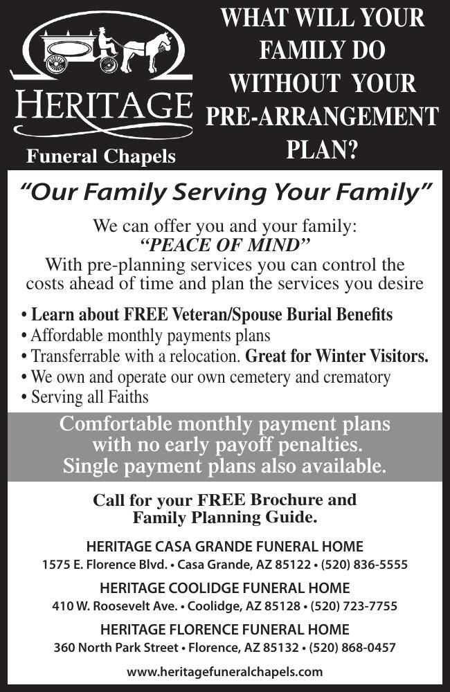Funeral Chapels - Heritage Funeral Home
