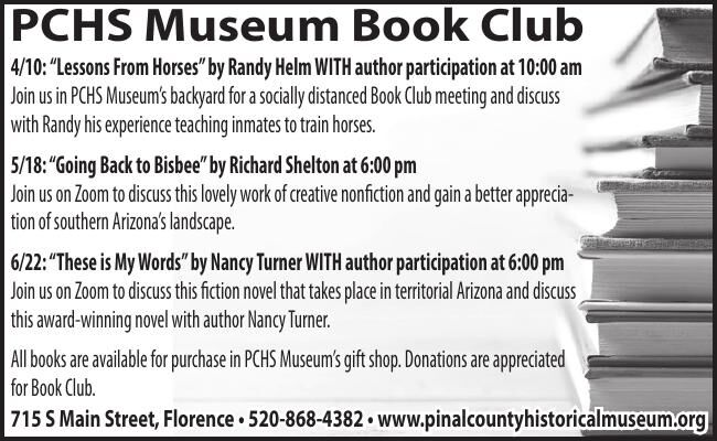 PCHS Museum Upcoming Events