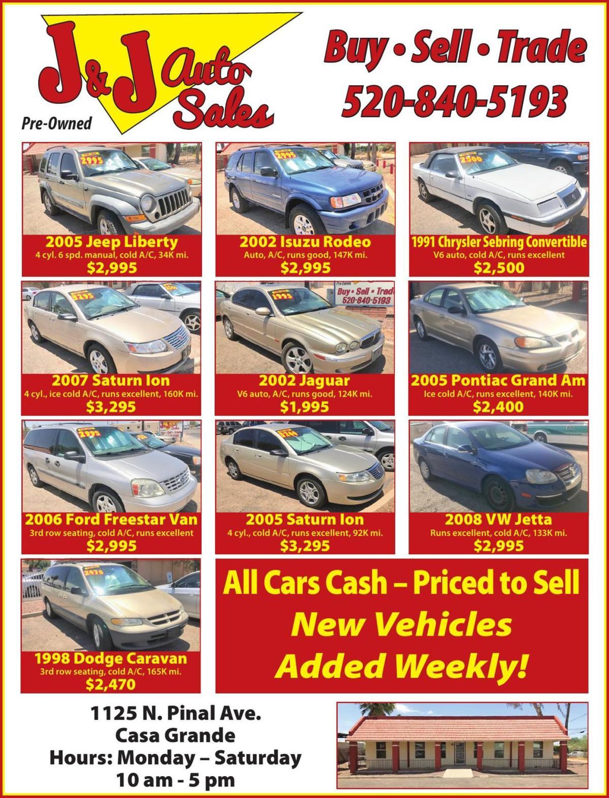 J&Js Auto Sales