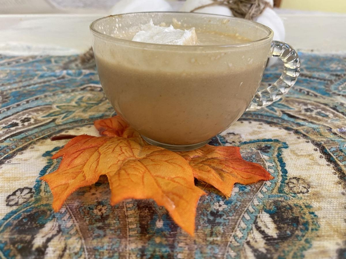 Whipped pumpkin spice latte