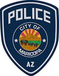 Maricopa Police Department MPD logo