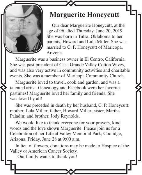 Marguerite Honeycutt