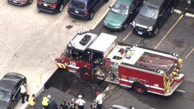 Fire Truck Stuck