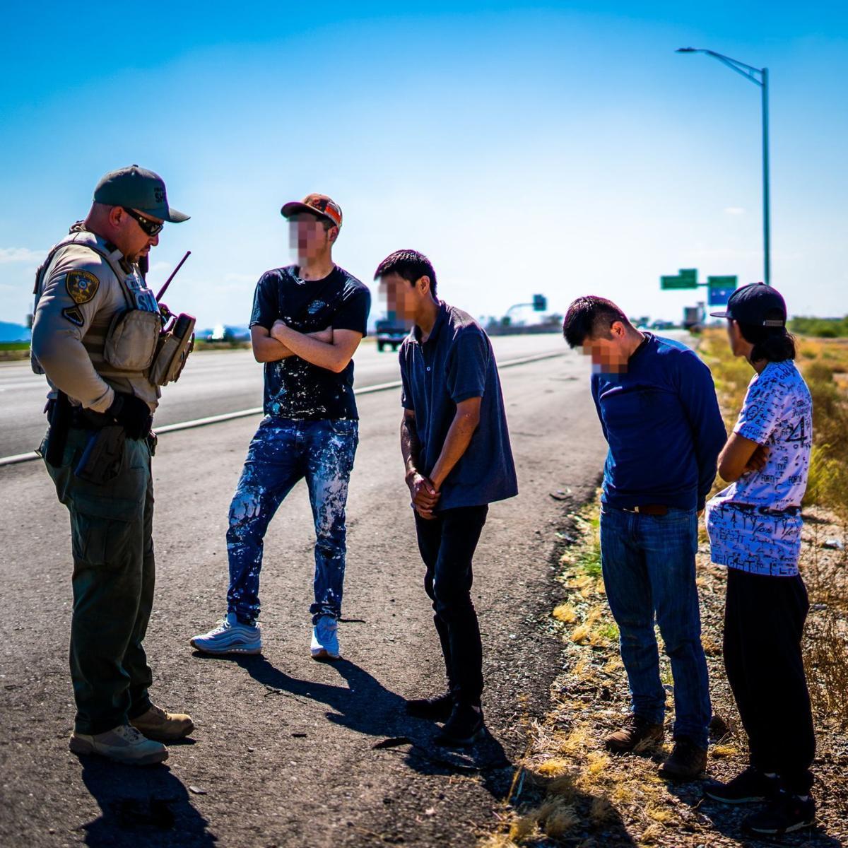 Human smuggling I-10 Picacho