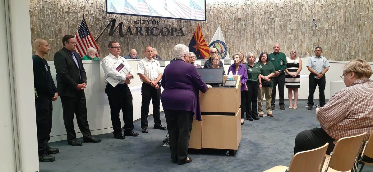 Mayor Price and fire/medical services