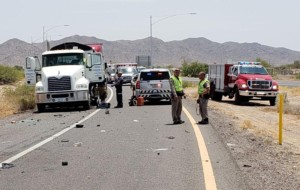 Truck driver rescues two kids from rollover accident