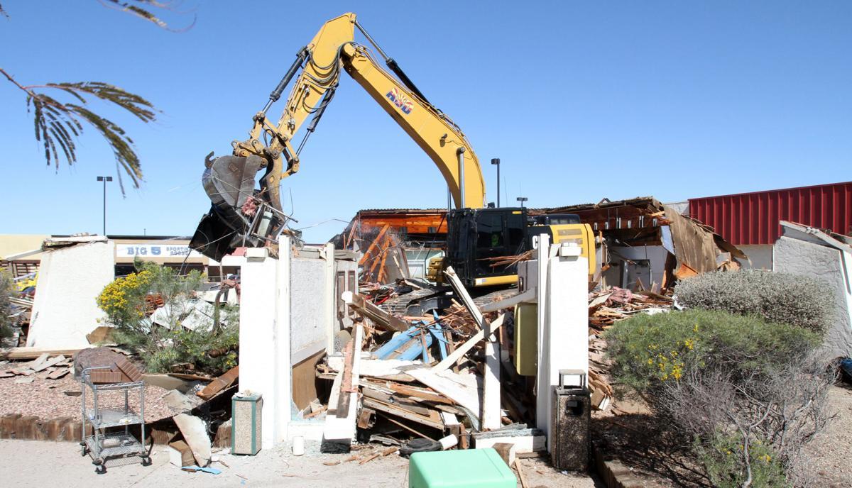 JB's Restaurant demolition
