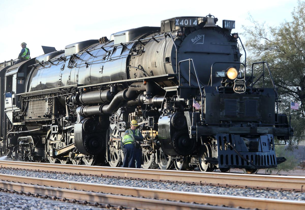 Big Boy Steam Locomotive