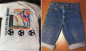 Clothing worn by Apache Junction Jane Doe