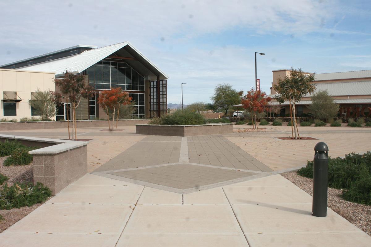 Future Veterans Memorial site