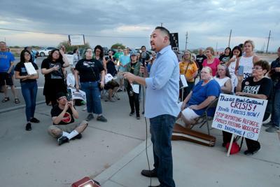 Eloy Detention Center vigil