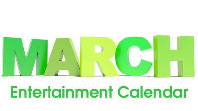 March Entertainment Calendar logo
