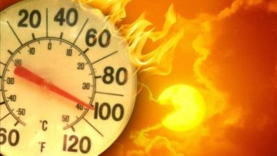 Extreme heat logo