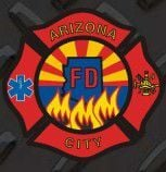 Arizona City Fire District ACFD Logo