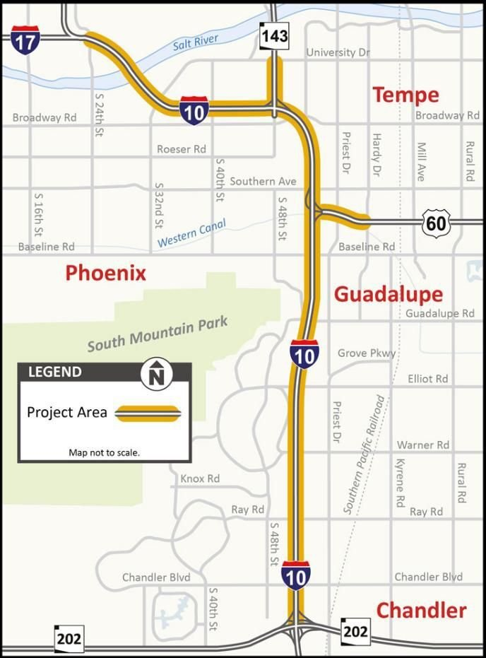 Two Major Freeway Projects This Year Will Benefit Pinal Commuters Pinalcentral Com