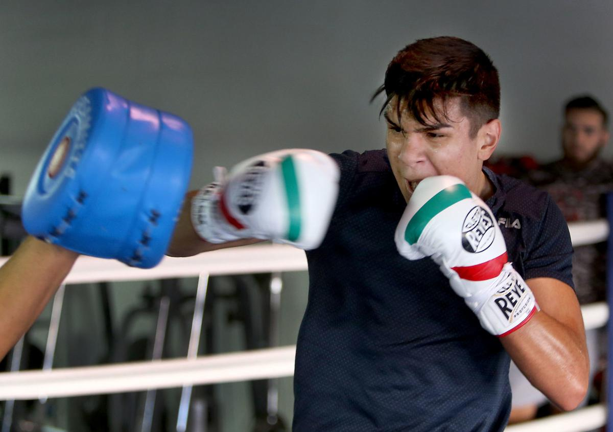 Boxer Jesus Ramos Jr.