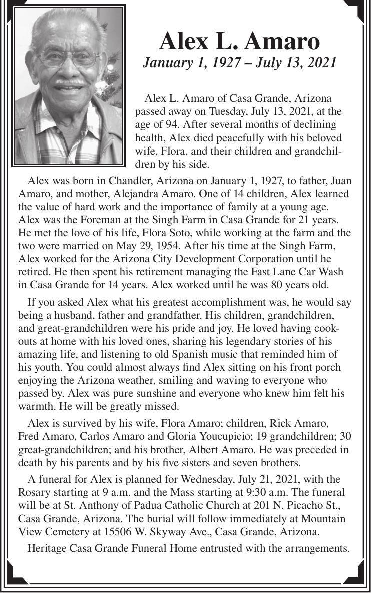 Alex L. Amaro