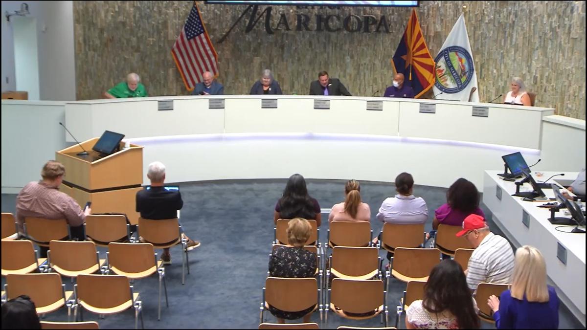 City of Maricopa city council members
