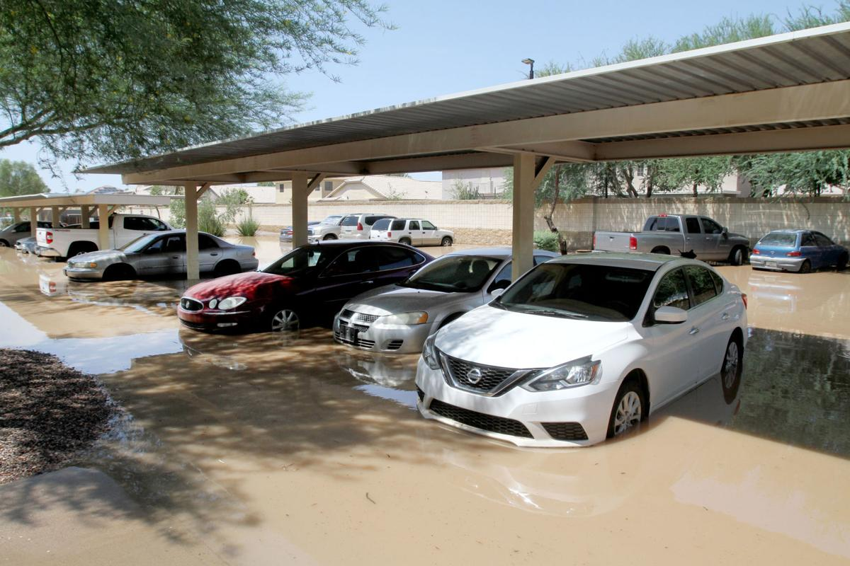 Cottonwood Crossings flooding