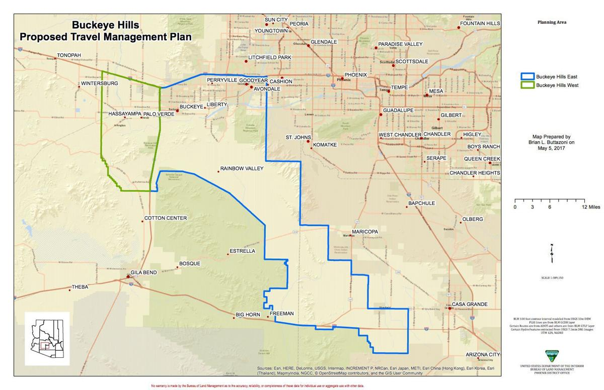BLM to hold Maricopa meeting to discuss travel network | Area News ...