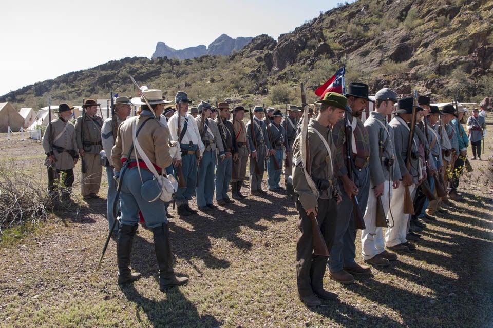 Civil war reenactments again planned at Picacho Peak State