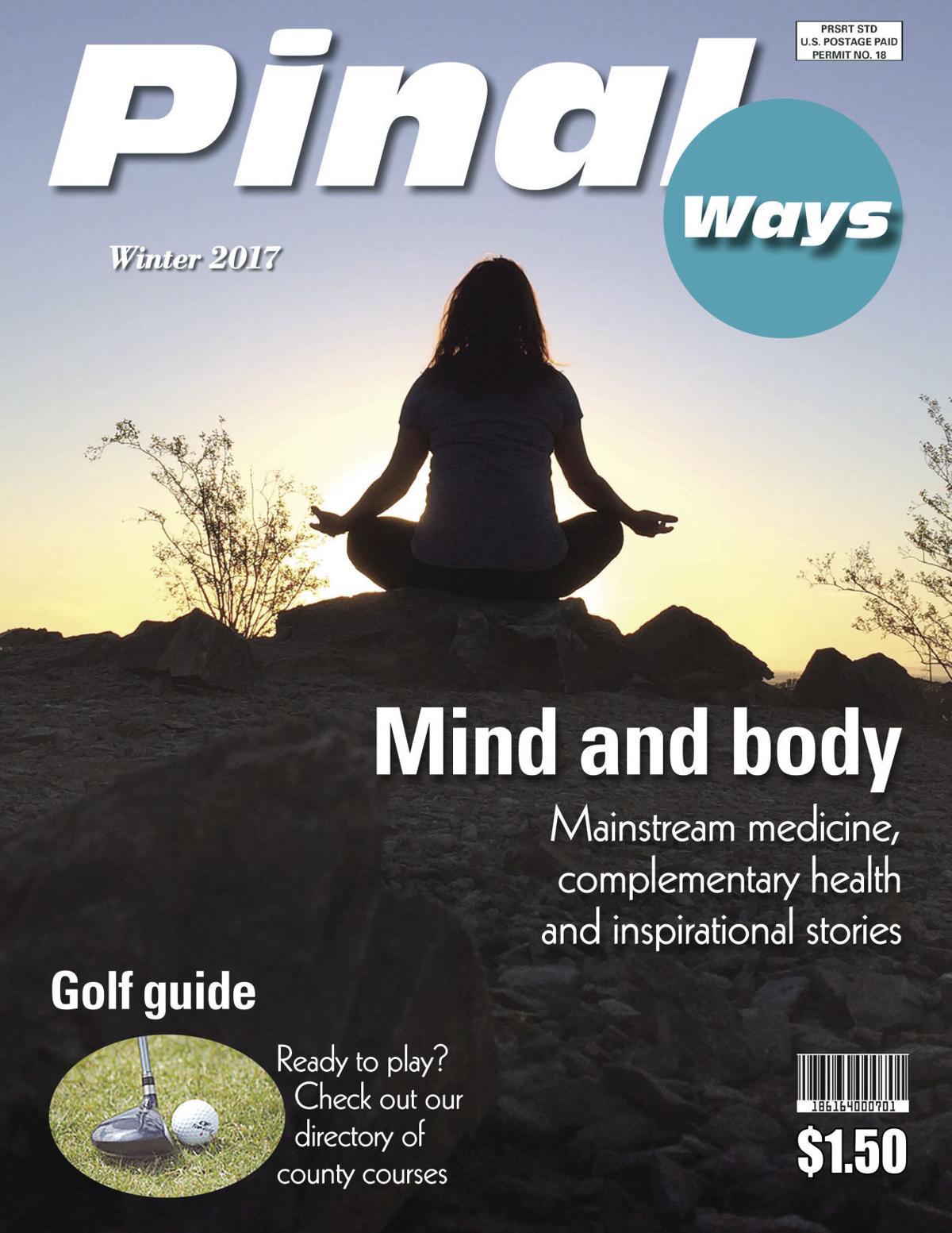 Winter 2017 Pinal Ways magazine cover