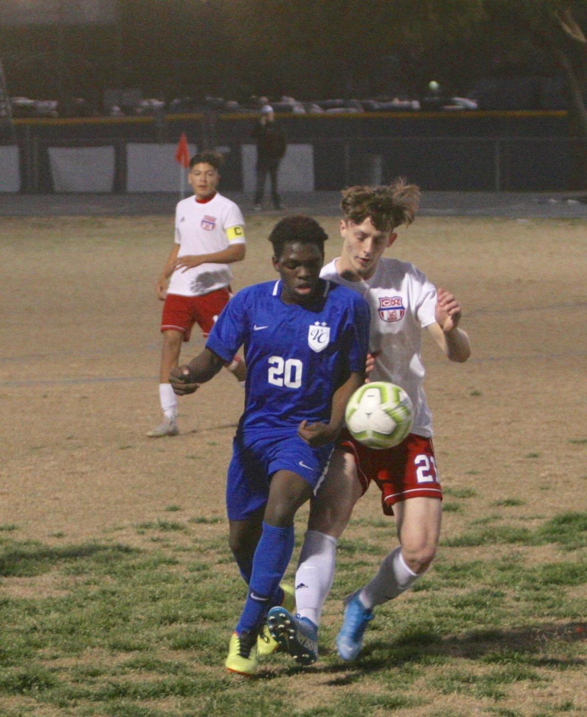 Coolidge Valley Christian boys soccer