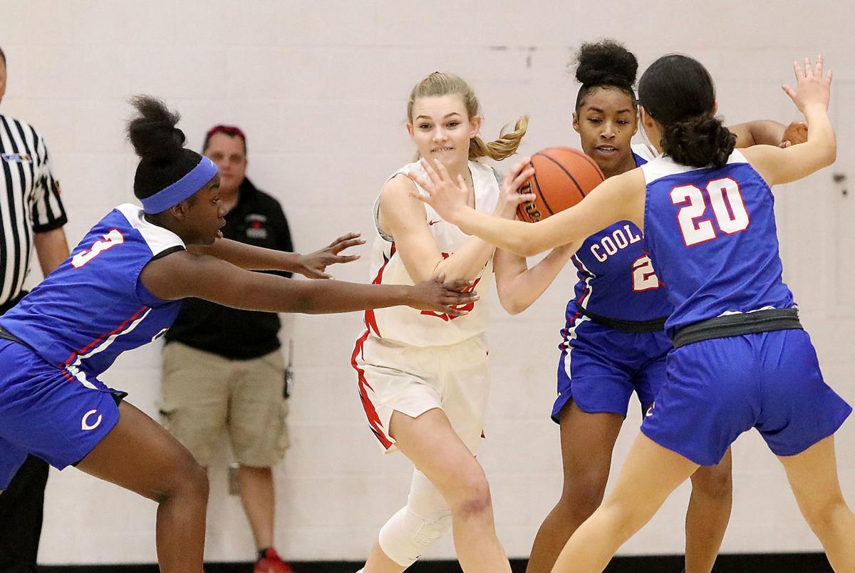 Florence vs. Coolidge girls basketball 1/7/20