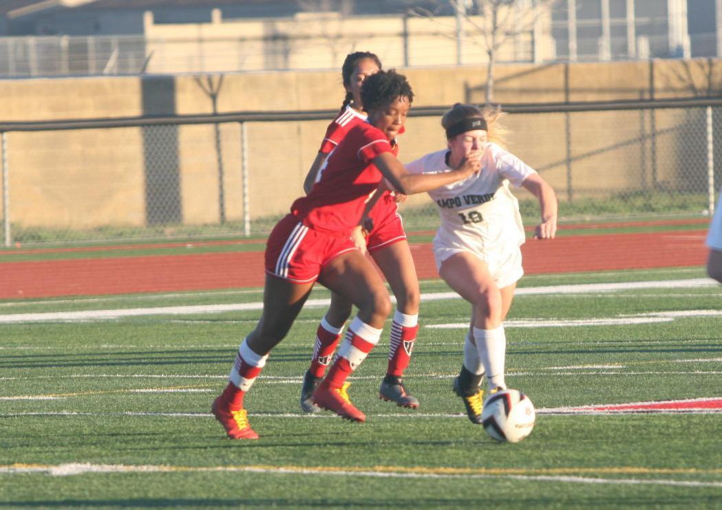 Maricopa Campo Verde girls soccer