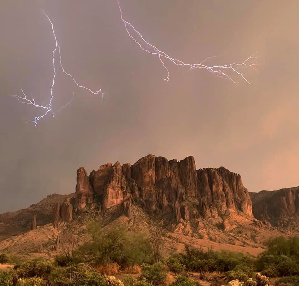 Spooky Stories of the Superstitions