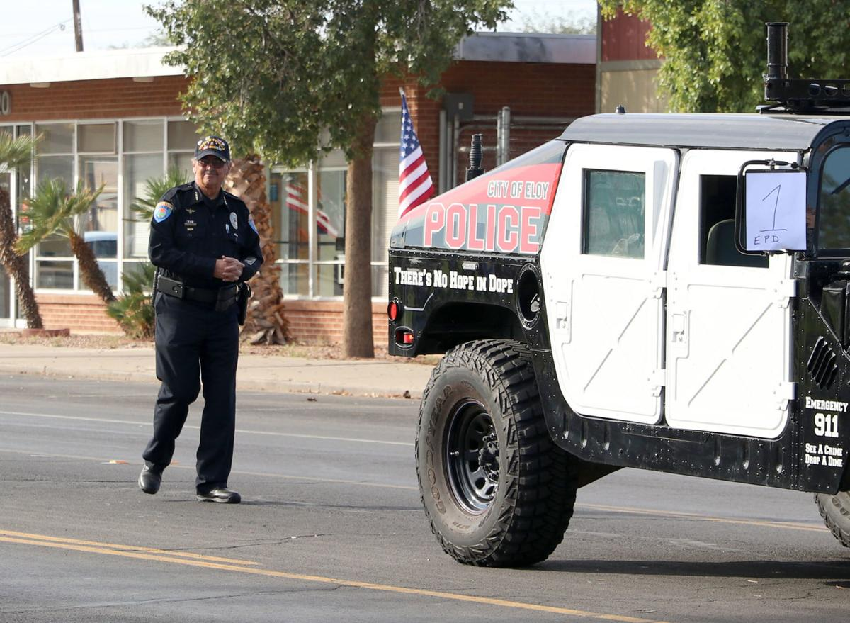 Eloy's 12th annual Veterans Day Parade