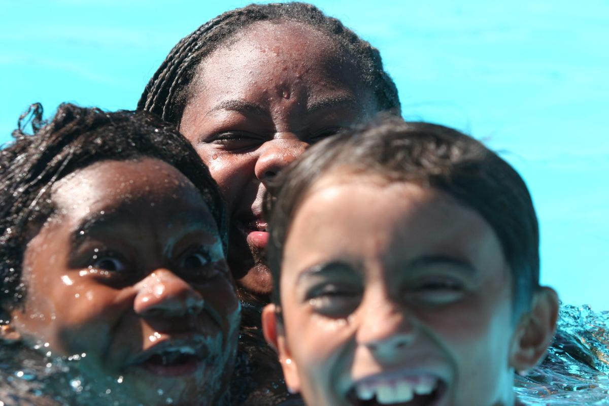 Coolide pool on July 4