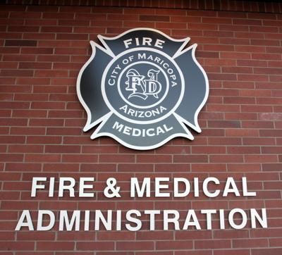 Maricopa Fire and Medical Department MFMD logo