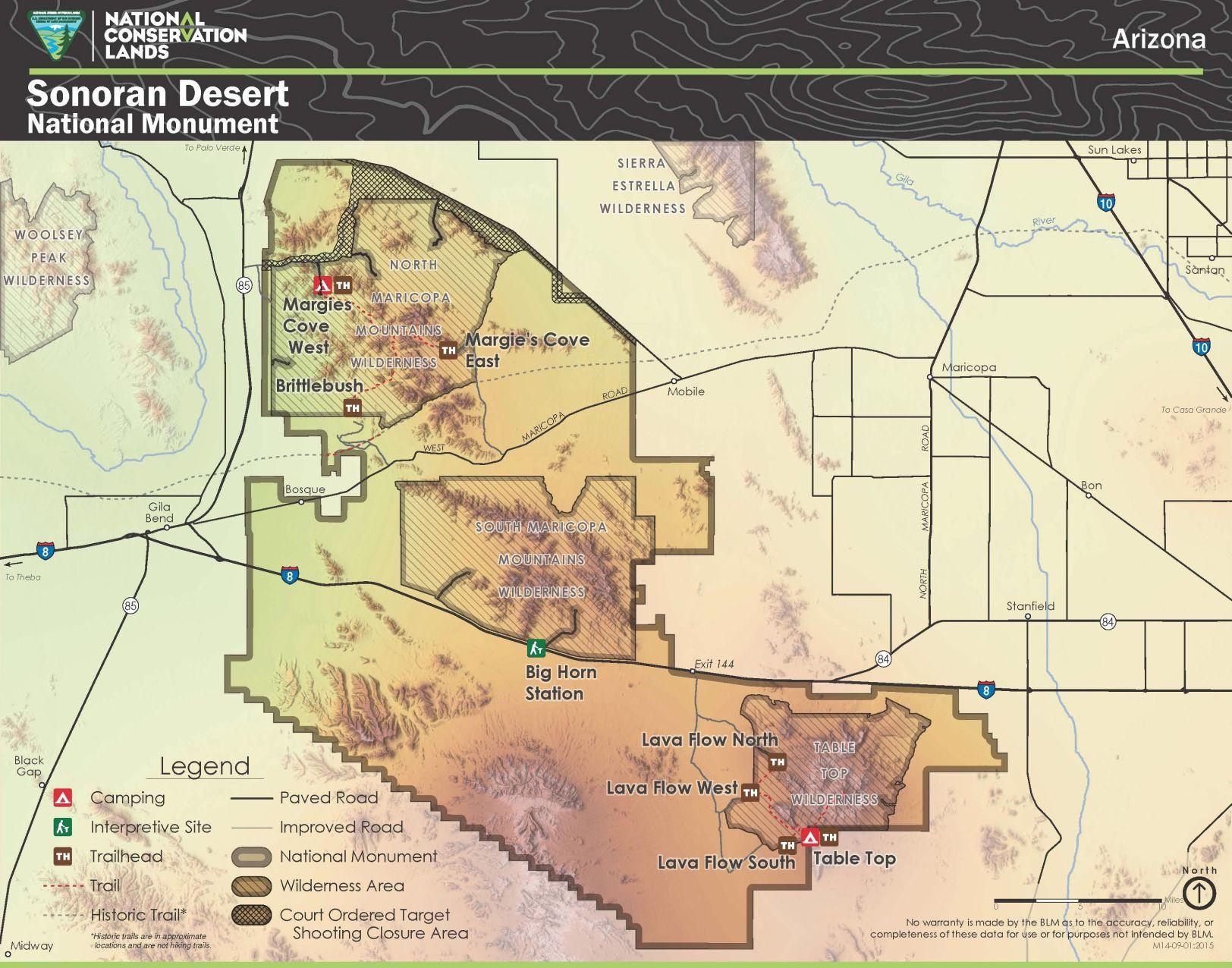 BLM seeks public input for Sonoran Desert National Monument plan