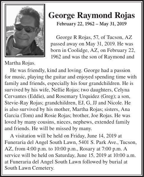 George Raymond Rojas
