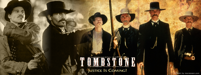 tombstone movie poster western