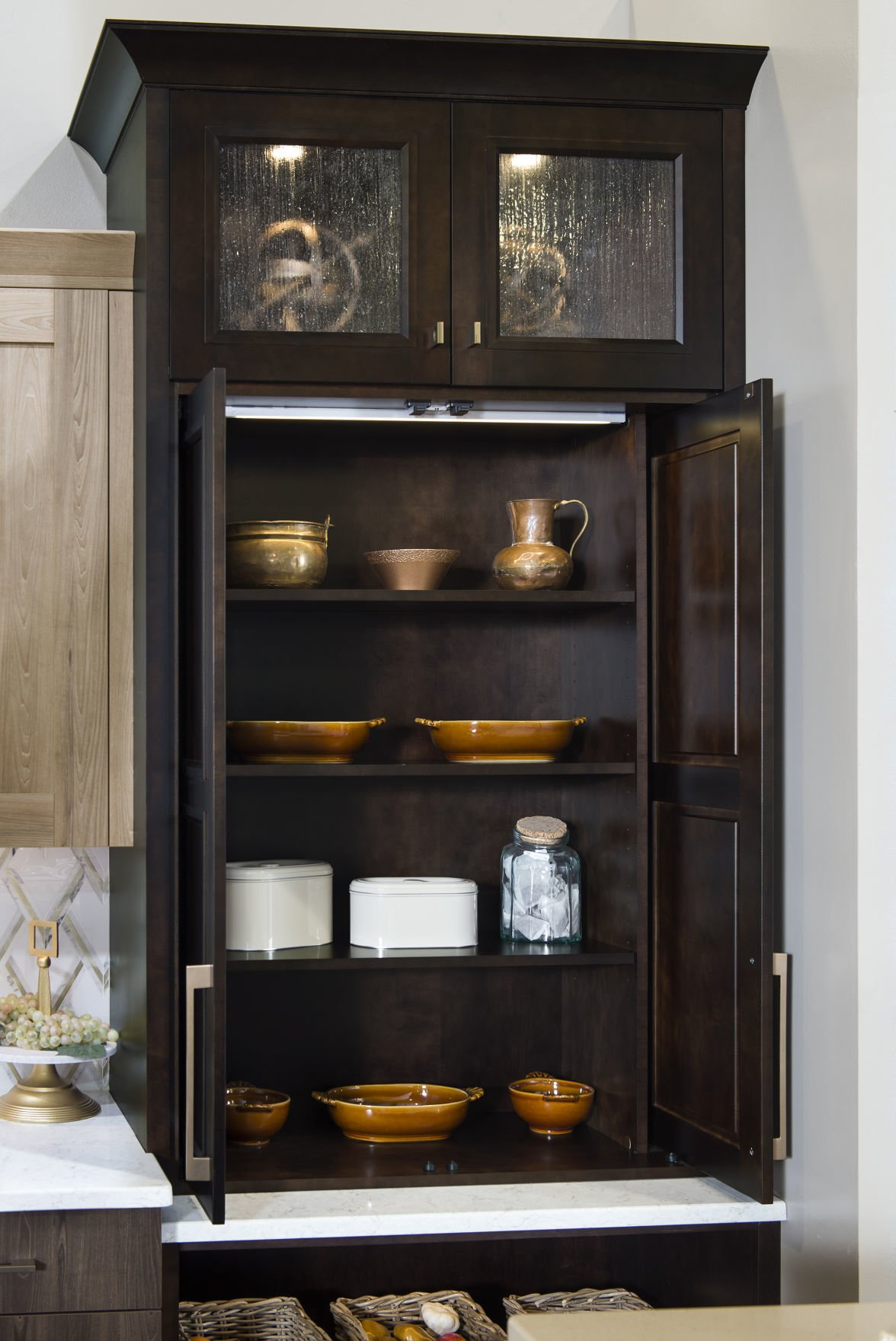 Special features you can add to kitchen cabinets   Home ...