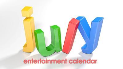 July Entertainment Calendar logo