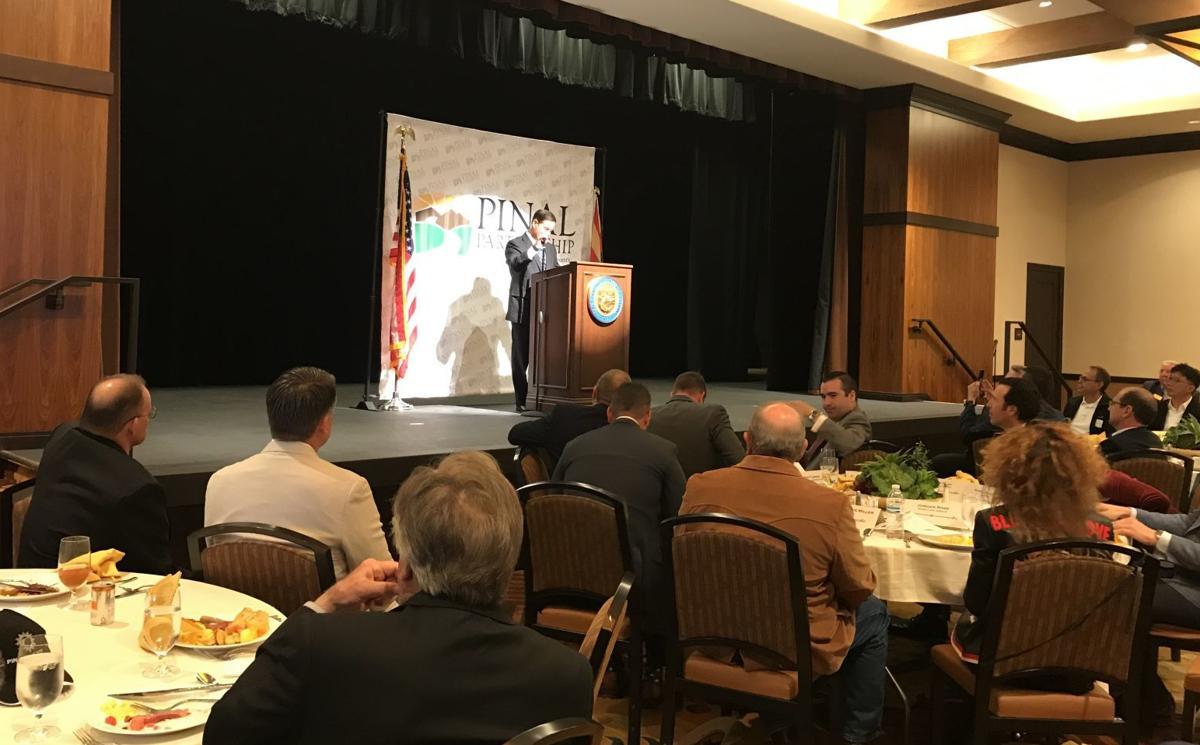 Pinal Partnership Governor Doug Ducey